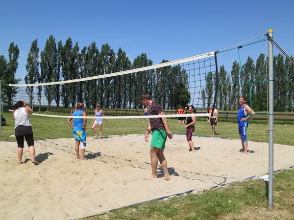 Start-Volleyball
